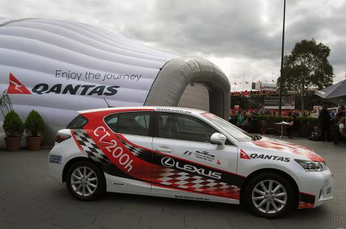 F1 Celebrity Street Impact
