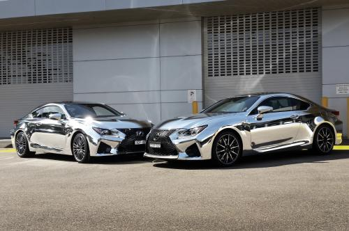 Lexus Chrome set Street Impact