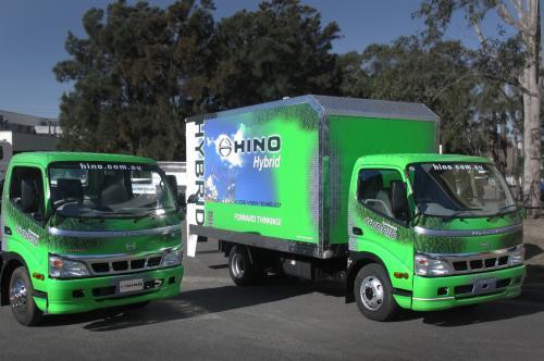 Hino Hybrid Street Impact